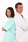 A team of medical professionals Royalty Free Stock Photo