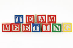 Team Meeting Royalty Free Stock Photography