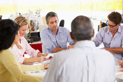 Team Meeting In Creative Office Royalty Free Stock Photos