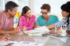 Team Meeting In Creative Office Royalty Free Stock Image
