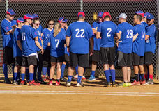 Team Meeting - Special Olympics Royalty Free Stock Photo
