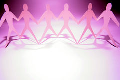 Team of men Royalty Free Stock Images