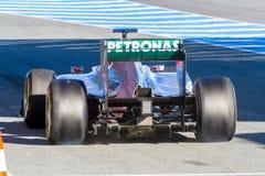 Team Mercedes F1, Michael Schumacher, 2012 Stock Images