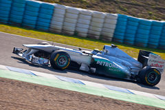 Team Mercedes F1, Nico Rosberg, 2011 Stock Photos
