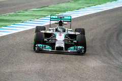 Team Mercedes F1, Nico Rosberg, 2014 Stock Images
