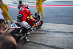 Team Monlau Repsol Technical 24 horas de resistencia Fotos de archivo