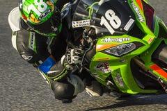 Team Motostyl 24 urenduurzaamheid Catalunya Stock Foto