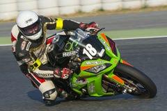 Team Motostyl 24 urenduurzaamheid Catalunya Stock Afbeelding