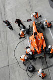 Team Netherlands A1 pit stop royalty free stock photography