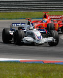 Team Nick Heidfeld F1.07 Deutschland Sept BMW-Sauber F1 stockfotos