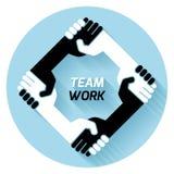 Team o trabalho Imagem de Stock
