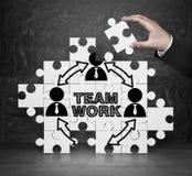 Team o trabalho imagem de stock royalty free