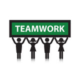 Team o trabalho Foto de Stock Royalty Free