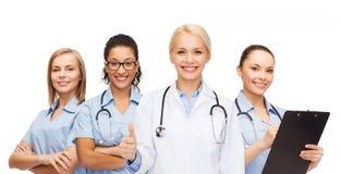 Team oder Gruppe Doktoren und Krankenschwestern stockbilder