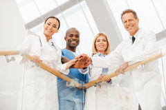 Team Of Medical Experts. Royalty Free Stock Photo