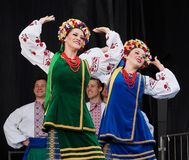 Free Team Of Ukrainian Dancers At Kaleido Festival Stock Photography - 121537542