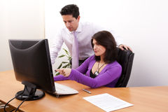 Team at the office Royalty Free Stock Photography