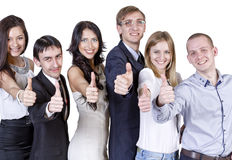 Team of office staff Royalty Free Stock Image