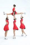 Team Olympia-Bremsung Lizenzfreies Stockbild