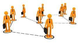 Team сommunication Royalty Free Stock Image