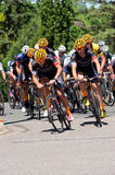 Team Optum Leads Chase in Stillwater Royalty Free Stock Photos