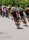 Team Optum Leads Peloton in Stillwater Royalty Free Stock Photos