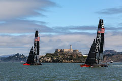 Team Oracle & Alcatraz Stock Photos