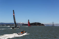 Team Oracle Racing Royalty Free Stock Image