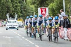 Team Orica-GreenEdge - Team Time Trial 2015 Stock Images
