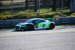 Team Parker Racing Audi R8 LMS ultra Immagini Stock Libere da Diritti