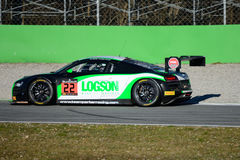 Team Parker Racing Audi R8 LMS ultra Royalty-vrije Stock Fotografie