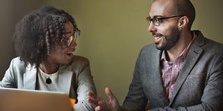 Team Partner Business Discussion Communication-Concept Stock Fotografie
