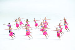 Team Passion-Groep Stock Foto's