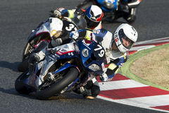 Team Passion 24H 24 heures de motocyclisme de Catalunya Photographie stock libre de droits