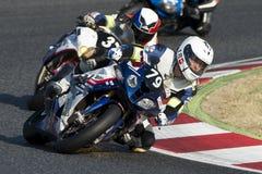 Team Passion 24H 24 Stunden Catalunya-Motorradfahren Lizenzfreie Stockfotografie