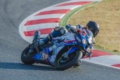 Team Passion 24H 24 uren van Catalunya-Motorrijden Stock Foto's