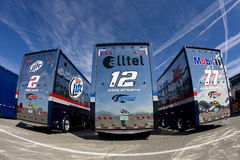 Team Penske Haulers UAW-Dodge 400 Royalty Free Stock Image