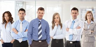 Team photo of young businesspeople Royalty Free Stock Images