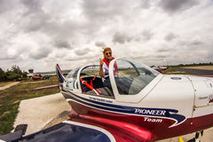 Team Pioneer Special Airplanes Imagens de Stock Royalty Free