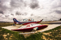 Team Pioneer Special Airplanes Royalty Free Stock Photo