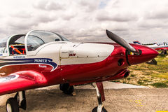 Team Pioneer Special Airplanes Royalty Free Stock Images