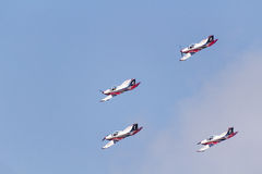 Team Pionner Aerobatic Show Lizenzfreies Stockbild