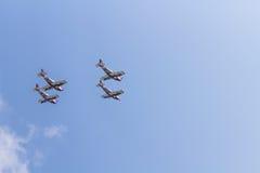 Team Pionner Aerobatic Show Royalty Free Stock Image