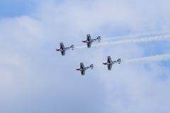 Team Pionner Aerobatic Show Royalty Free Stock Photo