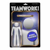 Team Player Valued Member Worker Action Figure Royalty Free Stock Images
