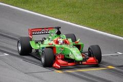 Team Portugal A1 GP-Auto am beginnenden Rasterfeld Lizenzfreies Stockbild