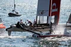 Team prada sailors Royalty Free Stock Photo