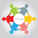 Team - presentation concept Royalty Free Stock Photography