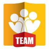 Team - Presentation template Royalty Free Stock Image
