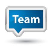 Team prime blue banner button Stock Photo